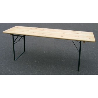 LOCATION TABLE RECTANGULAIRE BOIS