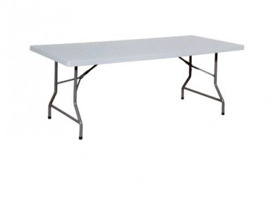 table 200 x 90 cm en polyéthylene
